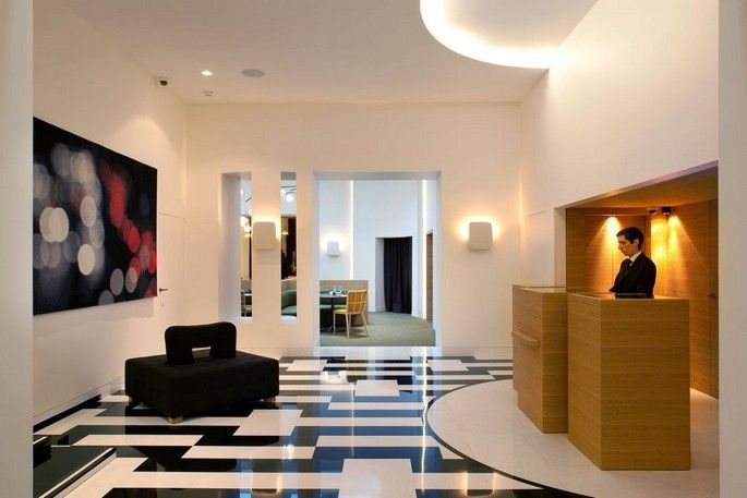 Hotel Marignan Elysees Paris, a luxury hotel design by french interior designer Pierre Yovanovitch | Covet Lounge - Curated Design