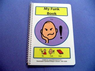 Autism Social Story My Funk Book PECS ABA by TheAutismShop