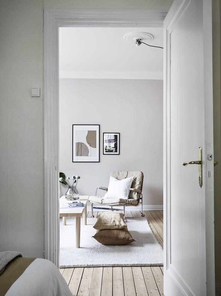 Light And Airy Home In Natural Colors Met Afbeeldingen Interieur