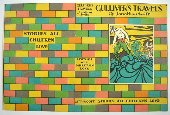 Jonathan Swift's 'Gulliver's Travels', illustrated by Sherman Cooke. Philadelphia: J. B. Lippincott, 1928. l Victoria and Albert Museum