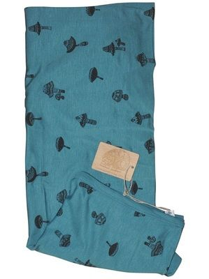 Our beautifully soft bamboo stretch wraps make a perfect gift for newborns. Generously sized at 110cm x 75cm and with a touch of stretch, they are a gorgeous necessity for new mums. Bamboo fabric is temperature regulating, absorbent and breathable to help keep baby comfortable. Ideal for sensitive young skin. 95% Bamboo & 5% Lycra.