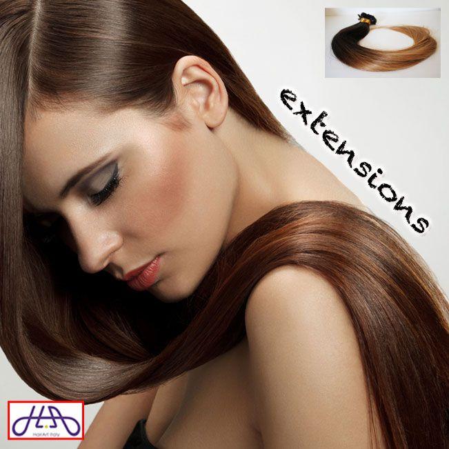 Le extension di oggi sono le OMBRE' SHATUSH, moderne e originali come te: le ciocche di capelli veri al 100% sono di provenienza indiana (Qualità 5A) e nella confezione potrai trovare 100 ciocche da 1 grammo, quindi 100 grammi di capelli. Per info scrivici su WhatsApp al 3292101118. http://bit.ly/extension-HA #capelli #hairartitaly