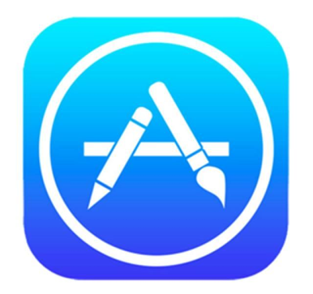 The Explosive Growth of the iPhone App Store: iPhone App Store logo