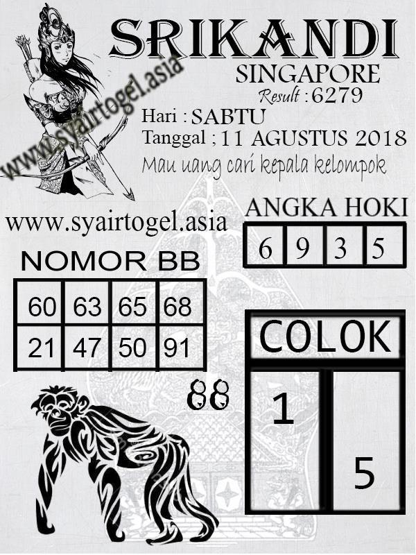 Kode Syair Togel Singapore Sabtu  Syair Togel