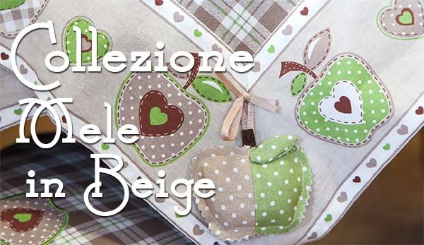 Dressing Home Angelica Home & Country Collezione Mele in beige