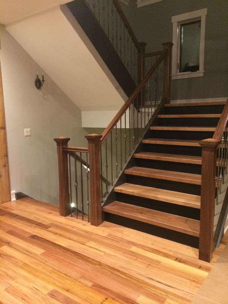 Australian Wormy Chestnut flooring and stair parts
