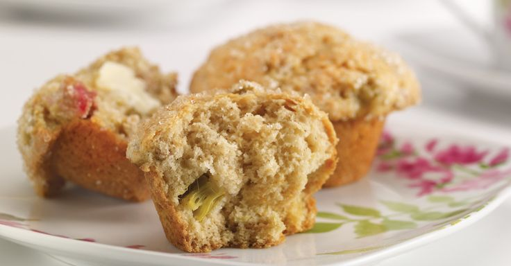 Muffin ventured, muffin gained. Try out this unique recipe from kitchen expert Anna Olson. http://bit.ly/1aetaoP