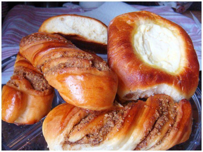 Классика русской кухни - ватрушки, а также ореховые булочки - вертушечки - Простые рецепты Овкусе.ру