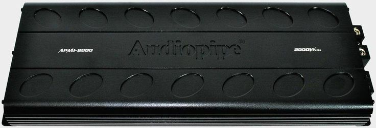 Audiopipe APMI2000 2000 W Max 1 Ohm Monoblock Stereo Class D Car Audio Amplifier #Audiopipe