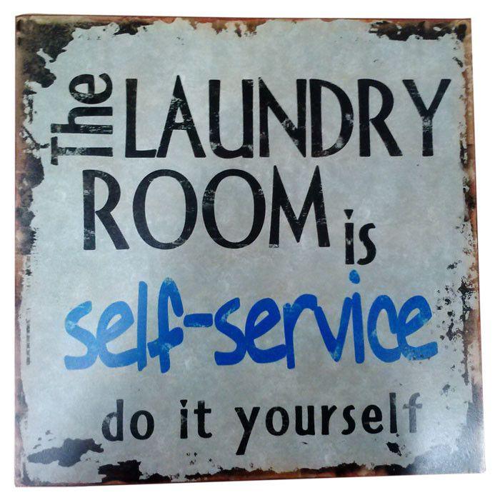 Self Service Laundry Room