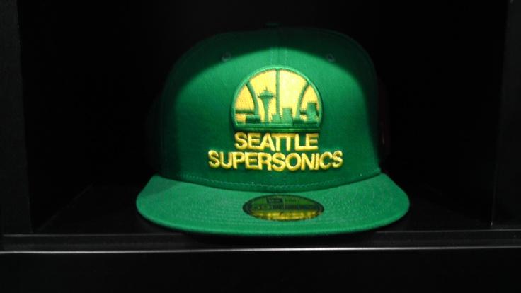 Seattle Supersonics: Head Of Garlic, Nba Cap