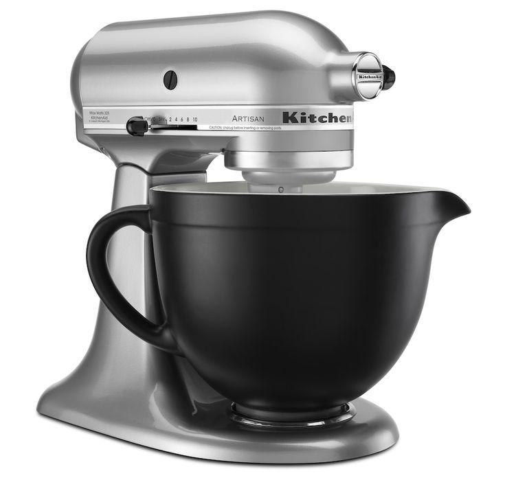 Kitchenaid 5quart matte black ceramic bowl in 2020