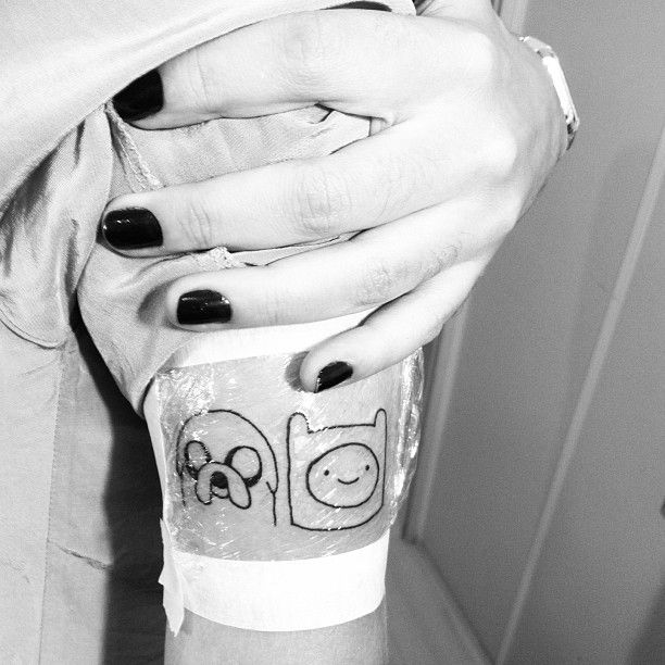 My Adventure Time Tattoo Adventure Time Pinterest