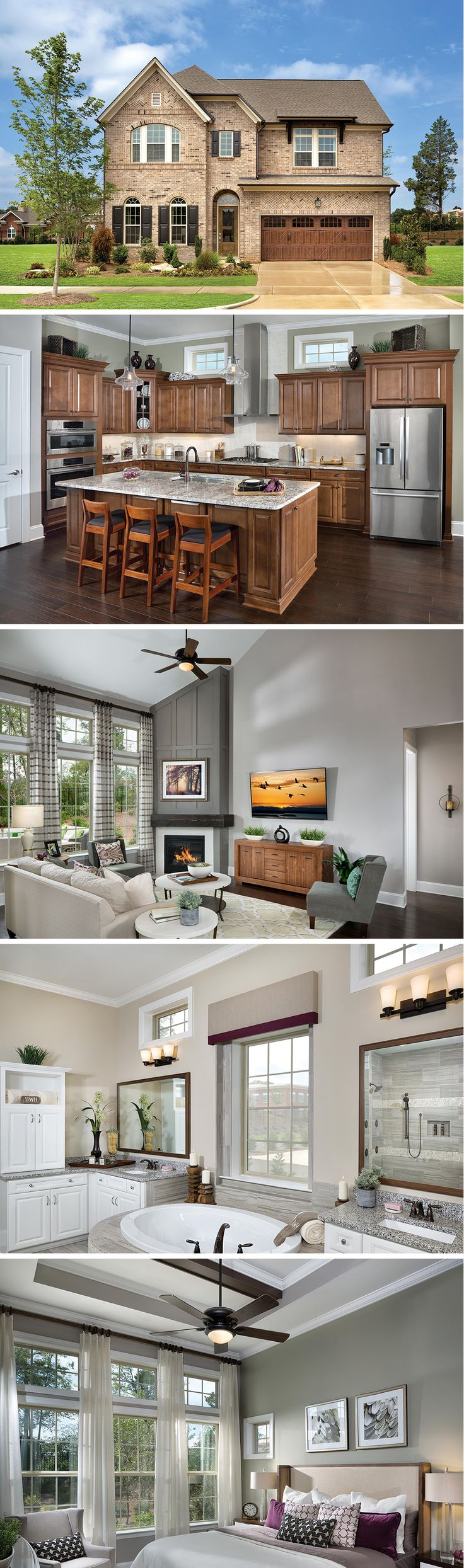 David Weekley Homes is now building award-winning homes in the South Charlotte community of Waverly Executive Collection, located at the intersection of Providence Road and Ardrey Kell Road. Situated among pocket parks and tree-lined streets, this 90-acre, pedestrian-friendly community features executive homes with a mix of traditional, craftsman and European architecture.