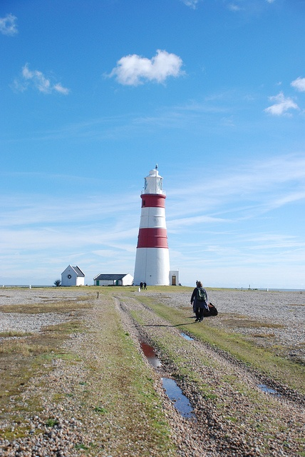 Orford Ness, via Flickr.  http://en.wikipedia.org/wiki/Orford_Ness