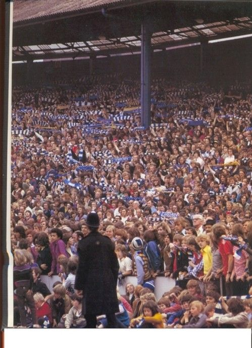 Shed End, Stamford Bridge, when there was a belting atmosphere Ah the good old days