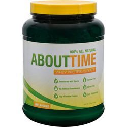 "$69.99- About Time Whey Protein Isolate Unflavored - 2 lbs, The two most common forms of whey powder are ""isolates"" and ""concentrates"" and the type you choose makes the difference between an average supplement and a superior one."