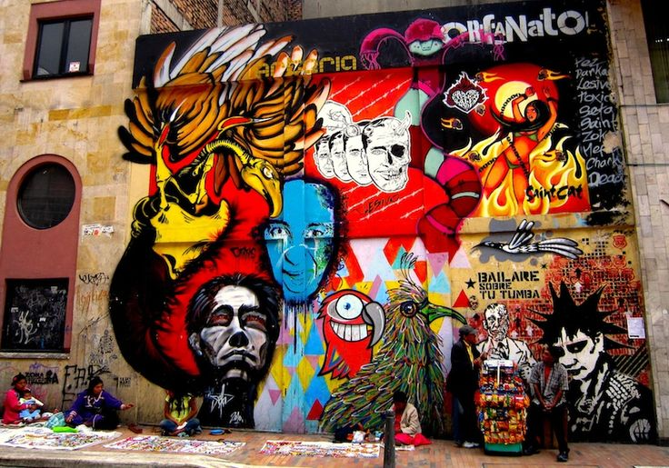 Bogota Street Art, Colombia