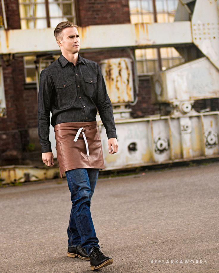 VIAPORI Apron Leather