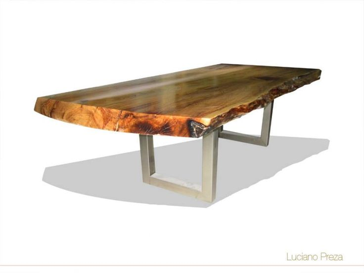 Mesa sabino patas de metal mobiliario organico for Muebles sabino