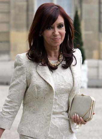Argentine prime minister Cristina Kirchner
