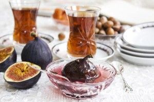 Варенье из инжира, заменить сироп на сок агавы