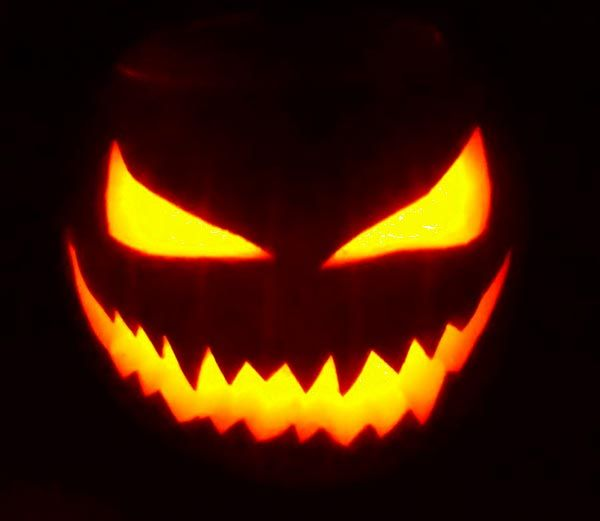50+ Free Simple Yet Scary Halloween Pumpkin Carving Ideas