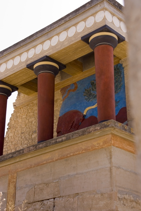 Knossos (Crete). I want to see this someday.