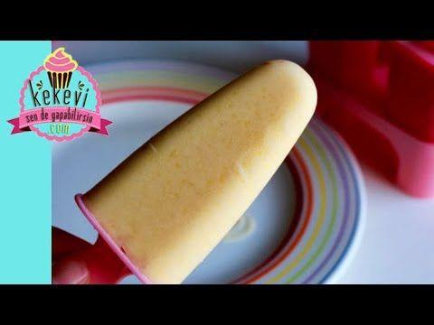 Şeftalili Yoğurtlu Dondurma / Meybuz – Ayşenur Altan   Kekevi.com – Ayşenur Altan