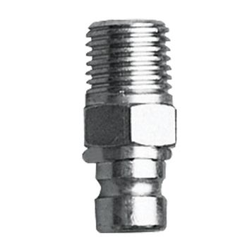 """Female Fuel Line Tank Connector with 1/4"""" NPT>60 CV, Chromed Brass"""