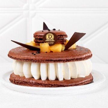 Macaron de Rêve Poire Belle-Hélène - Collection Automne Hiver 2014-2015
