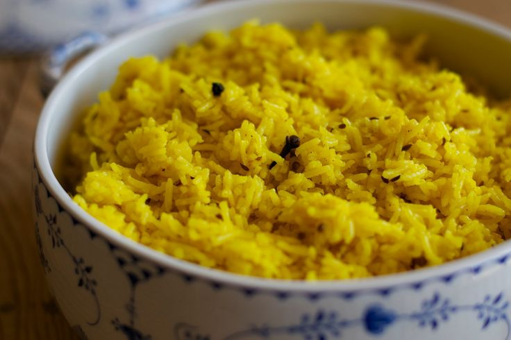 kitchen & aroma: rice with indian spices