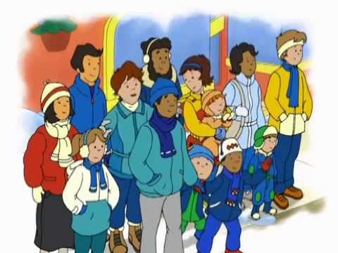 caillou DVD 6 en Español Dibujos Infantiles - Dibujos Pekes - Caillou Español - YouTube