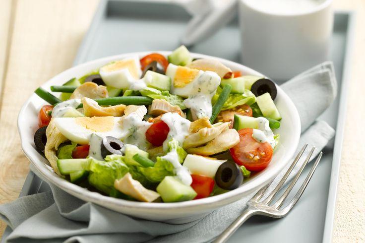 Meer dan 1000 afbeeldingen over zomerse gerechten op pinterest lasagne ovens en hammen - Maak een dressing ...