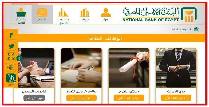 شبكة الروميساء التعليمية رابط التقديم فى وظائف شاغرة لجميع الخريجين فى البنوك Blog Posts Egypt National