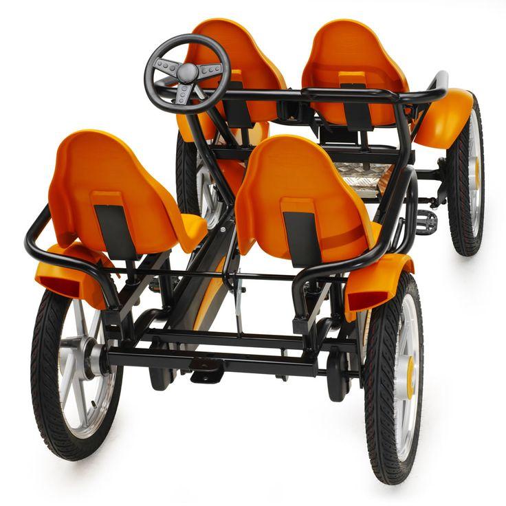 The Touring Quadracycle - Hammacher Schlemmer