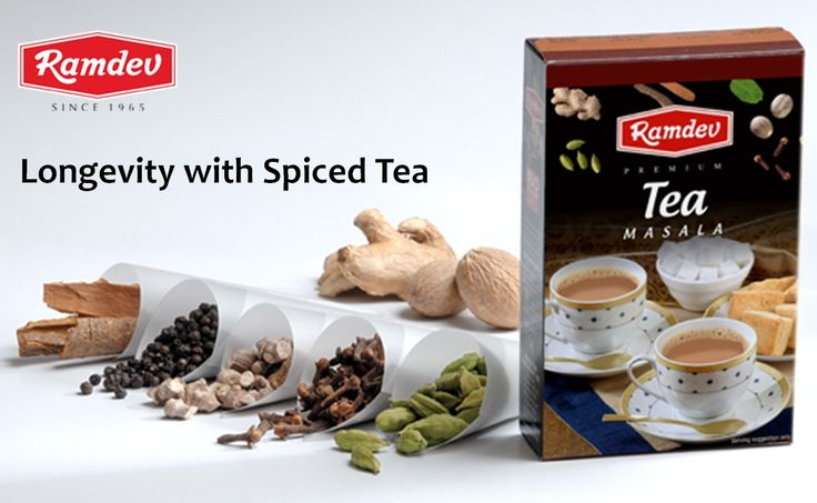 Spices added to tea make the tea even healthier. Spiced tea improves digestion, decreases inflammation and reduces the dangers of many diseases and improves your life. Use Ramdev Tea Masala that is having all the quality spices for good health and longevity. Some of the common and most useful spices for good health in Tea Masala are: • Cinnamon – It improves circulation of blood, decreases fatigue, improves energy and strength for good life.
