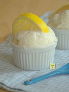 Gelato al limone cremoso senza uova e senza gelatiera