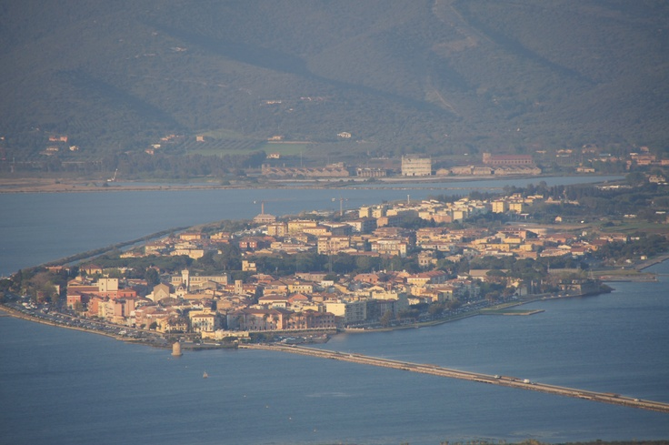 The Italian language School is located in the lovely seaside town of Orbetello, in Tuscany.