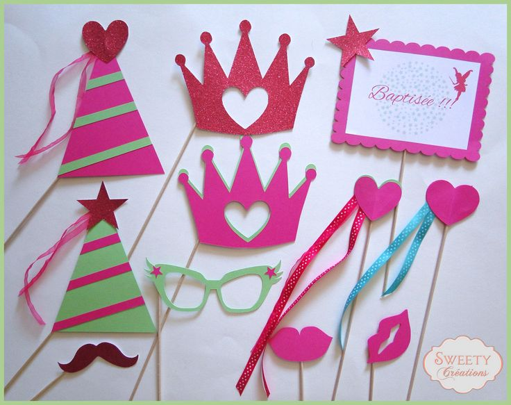 kit photobooth th me f e princesse photobooth props fairy princess photobooth. Black Bedroom Furniture Sets. Home Design Ideas