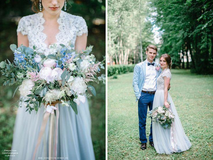 Букет невесты-растрепыш с пионами #букет #свадебный #букетневесты