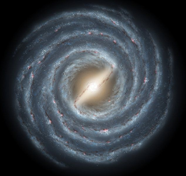 A pesar de que estamos dentro de ella, tenemos una idea bastante buena del diámetro de la Vía Láctea. Y eso, en gran parte, se lo debemos a un tipo de estrella que conocemos como Variable Cefeida... #astronomia #ciencia
