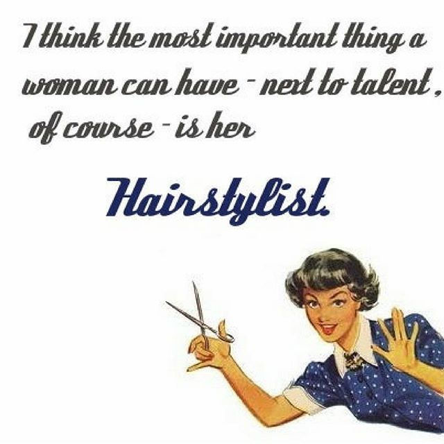 hairstylists dont just cut hair! they are artists, therapists, instructors and a girl's best friend ❤️ #nvenn #yeghair #yychair #salonpro #stylists #hairdresser #beautymemes #memes #tipyourstylist