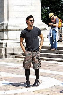 Tights Leggings And Long Socks As Fashion For Guys