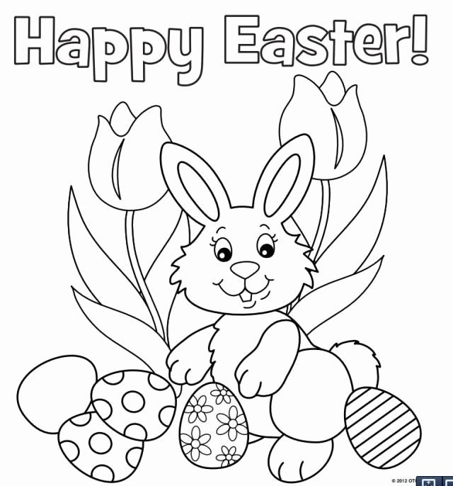 Spring Bunny Coloring Pages in 2020 | Bunny coloring pages ...