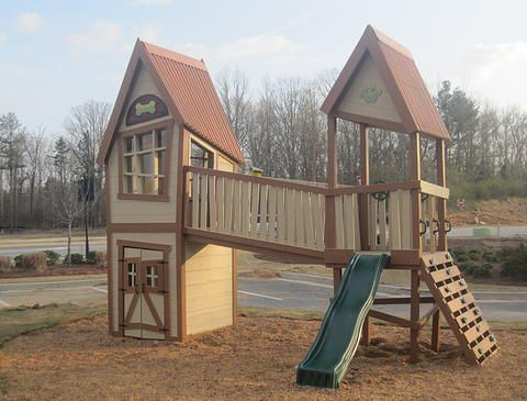 Recess Play Fort Play Set