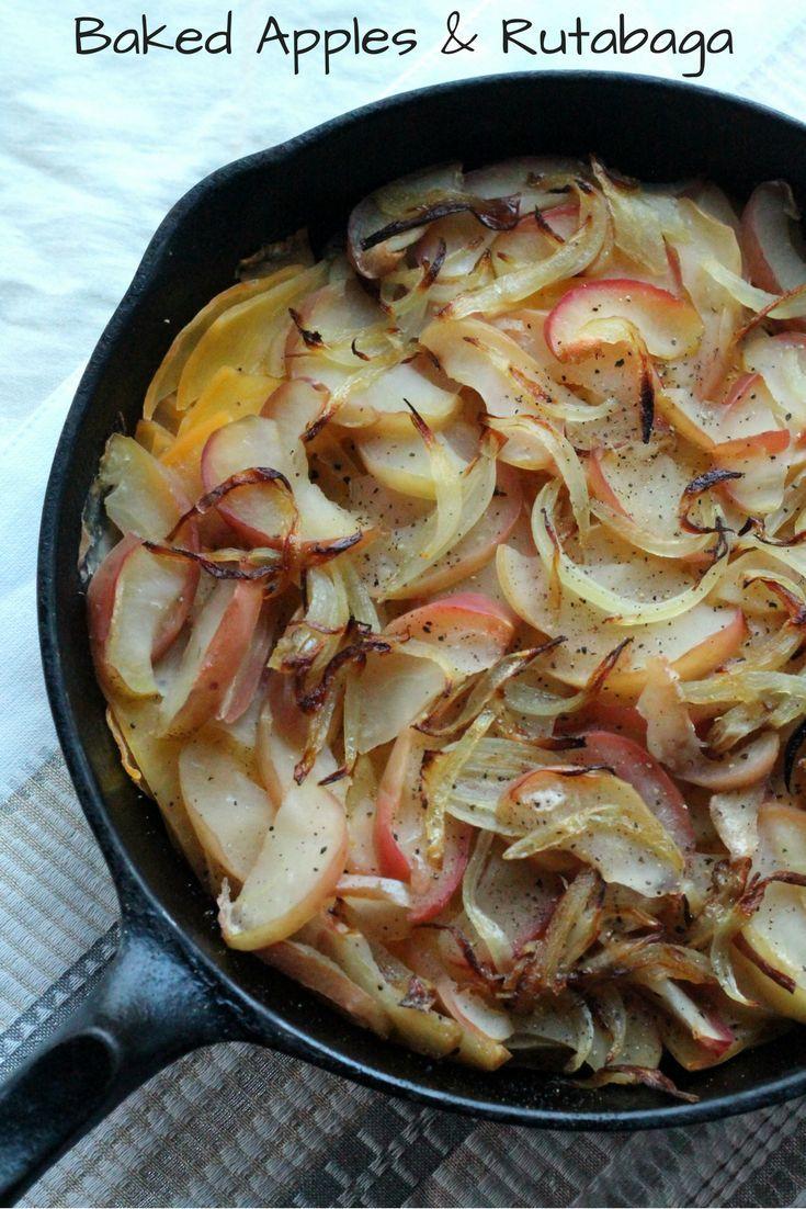 Baked Apples & Rutabaga Recipe