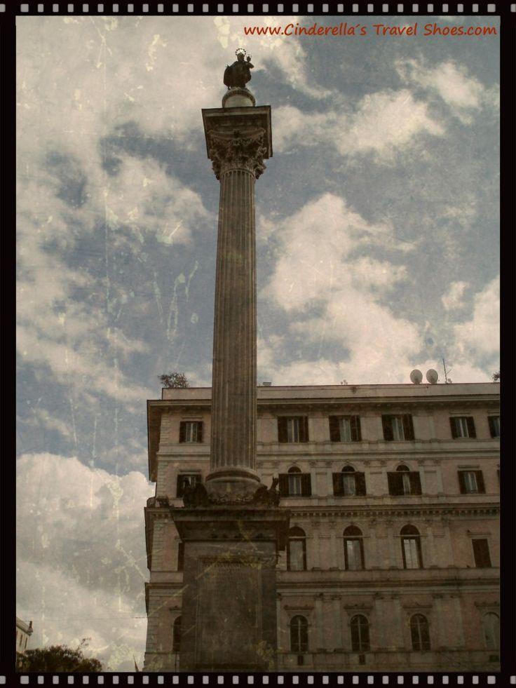 Colonna di Marco Aurelio in Rome, Italy