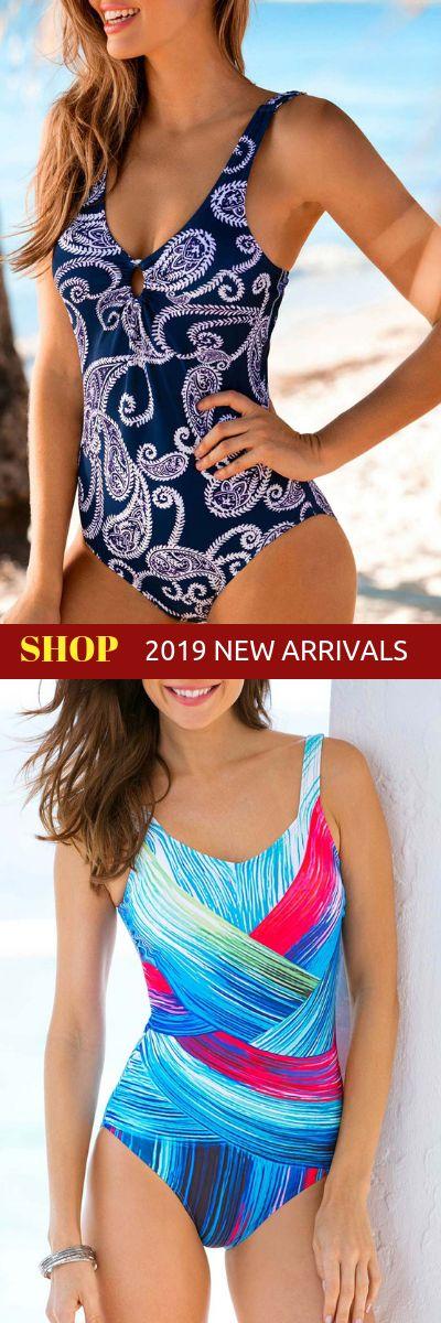 cute one piece swimwear for women