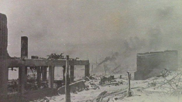Mr. Magnus captured plumes of smoke and a town with ash on snow